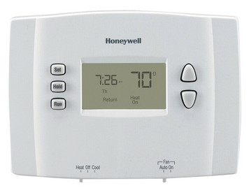 Honeywell RTH221B1021 E1 1 Week Programmable Thermostat in White