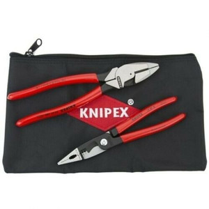 Knipex 9K0080130US 2 Piece Electrician's Pliers Set With Pouch
