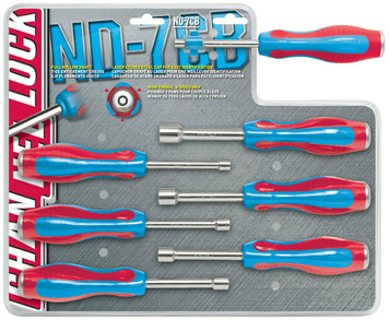 Channellock ND-7CB 7 Piece Nutdriver Set
