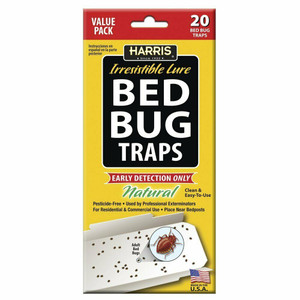 Harris BBTRP-20 - 20 Pack Bed Bug Traps