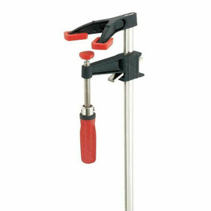 BESSEY DHBC-24 Bar Clamp,Clutch,Dbl Hd,24 In,3-1/2 Deep
