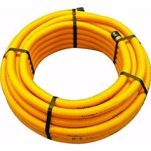 """Pro Flex  PFCT-1275 1/2"""" x 75' Coil Corrugated Stainless Steel CSST Hose / Tubing"""