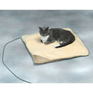 Allied Precision API 12PB-S Small Heated Pet Bed, Assorted Colors