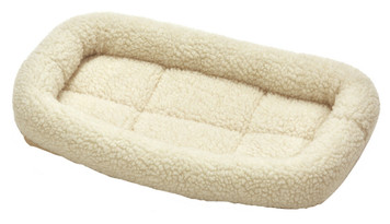 Allied Precision API 179225 X-Small Cream Colored Fleece Bed