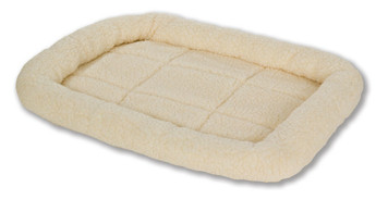 Allied Precision API 152235 Small Cream Colored Fleece Pet Bed