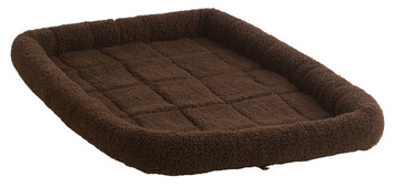 Allied Precision API 160766 Chocolate Color Large Pet Bed