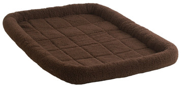 Allied Precision API 160773 Chocolate X-Large Fleece Pet Bed