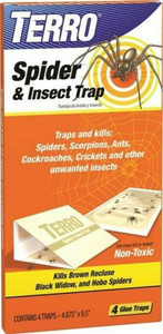 Terro T3206 Spider & Insect Trap (4 Count Package)