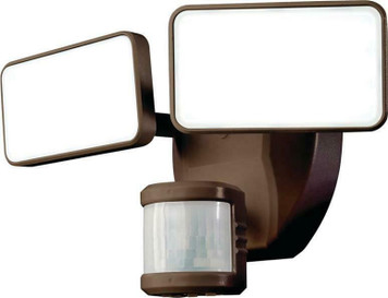 HeathCo. HZ-5867-BZ Bronze 180 Degree LED Motion Outdoor Light