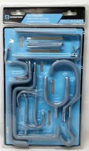 Crawford OR20-6 20 Piece Home Hook Assortment Kit