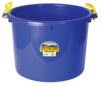 Little Giant PSB70BLUE 70 Quart Muck Tub