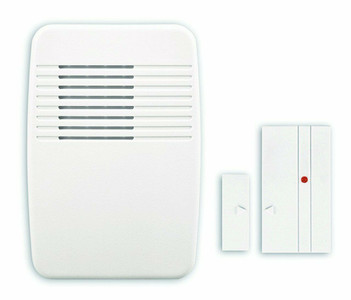 HeathCo LLC, SL-7368-02, White, Wireless Entry Alert Kit