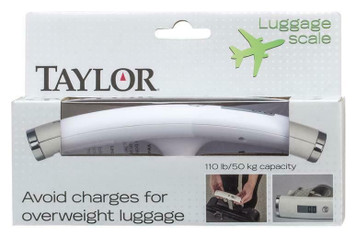 Taylor 81234 Compact & Portable Luggage Digital Scale