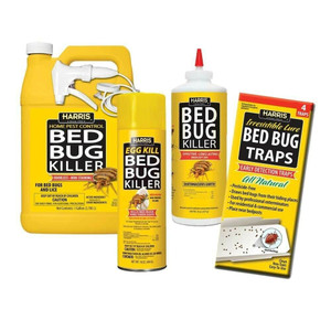 Harris BBKIT-LGVP Large Bed Bug Kit w/Bed Bug Killer, Egg Kill & Traps