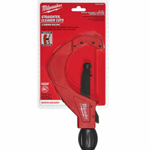 "Milwaukee 48-22-4254 3-1/2"" Quick Adjust Copper Tubing Cutter"