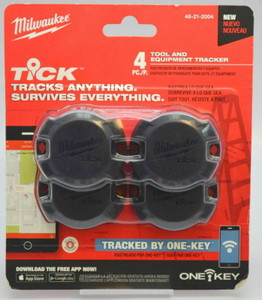 Milwaukee 48-21-2000 One-Key Tick Tool and Equipment Tracker (4 Pack)