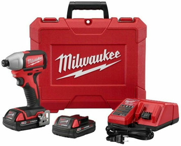 "Milwaukee 2750-22CT M18â""¢ 1/4"" Hex Brushless Impact Driver Kit"