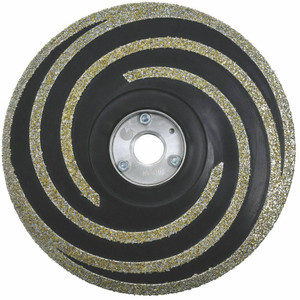 Milwaukee 49-93-6994 5 in. Diamond Grinding Wheel, Medium