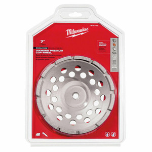Milwaukee 49-93-7720 7 in. Diamond Cup Wheel Single Row