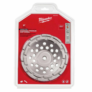 Milwaukee 49-93-7770 7 in. Diamond Cup Wheel Double Row
