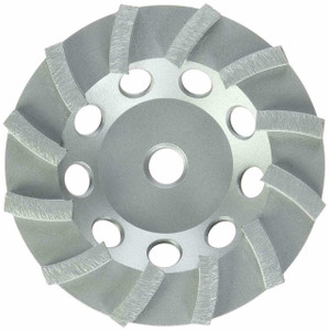 "Milwaukee 49-93-7790 5"" Diamond Cup Wheel Segmented-Turbo"