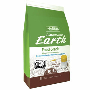 Harris 10.5 lbs. Diatomaceous Earth Food Grade with Powder Duster Applicator