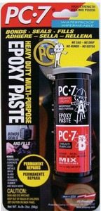 PC-7 Products 2 Ounce Package Strong Tough Epoxy Paste Glue Adhesive 027776