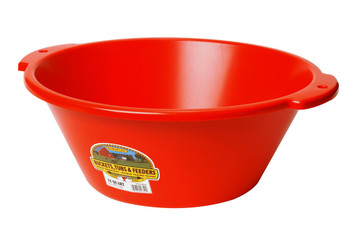 Little Giant FP18RED 18 Quart Plastic Feed Pan