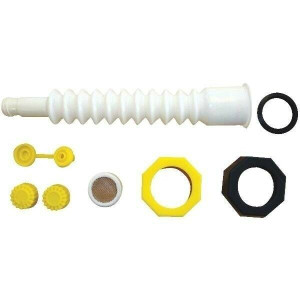 6 Combine Manufacturing EZ Pour  Spout Kit for Plastic Jugs
