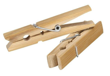 Household Essentialsney Design WD04700 Pack of 50 Wooden Clothespins