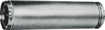 "American Metal 6HS-12 6"" X 12"" Insulated Chimney Stove Pipe"
