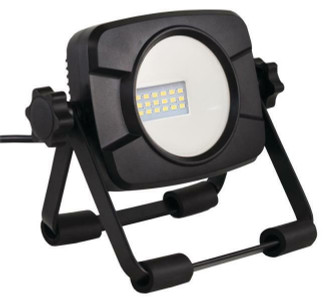 POWERZONE C1-1000SS Work Light With Stand, 15 W, 120 VAC, LED Bulb