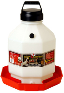 Little Giant PPF5 5 Gallon Plastic Poultry Waterer
