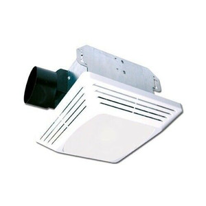 Air King ASLC50 50CFM White Exhaust Fan Light Combo Bath Fan 3 Sones