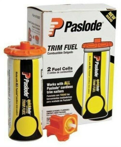 Paslode 816007 2PK Universal Short Yellow Fuel Cell Pack