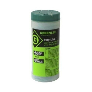 Greenlee Textron Poly Twine Fish Pull Line 500' 210LB Strength 430-500