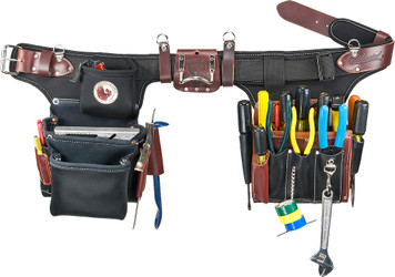 Occidental Leather Black Adjust-to-Fit Pro Electrician Toolbelt