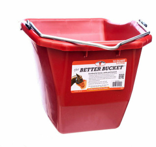 Little Giant BB10RED 10 Quart Plastic Better Bucket