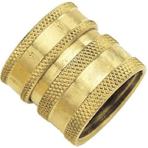 GreenThumb Brass Female Quick Connect Attachment for Hoses (09QCFGT)