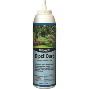 Fertilome 10586 Dipel Dust Biological Insecticide - 1 lb