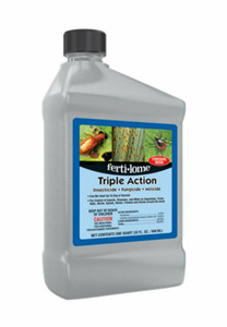 Fertilome 12246 Triple Action: Insecticide, Fungicide and Miticide - 32 Fl. Oz.