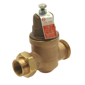 Cash Acme 1 in. Bronze EB-45 Single Union Pressure Regulating Valve
