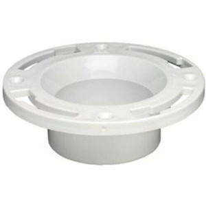 "Oatey 43505 PVC SCH 40 Level Fit Closet Toilet Flange 3"" to 4"""