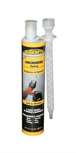 Quikrete 8620-30 - 8.6 oz Fast Set Anchoring Two Component Epoxy