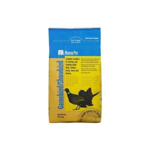 Manna Pro Complete Gamebird / Showbird Crumble Feed 5 Pound Bag