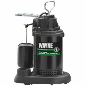 Wayne SPF33 Submersible Sump Pump with Float Switch