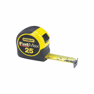 Stanley 33-725 Fatmax Tape Measure 25' x 1-1/4""