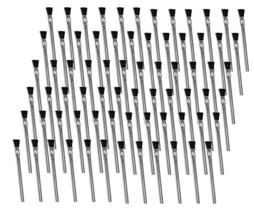 "Oatey 30712 24 Acid Brushes 6"" w/ Horsehair Bristles for Solder Flux Contact Cement etc."