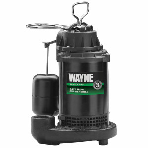 Wayne CDU800 Submersible Cast Iron Sump Pump