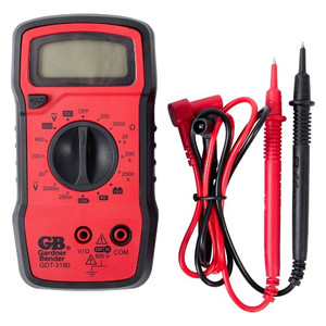 Gardner Bender GDT-3190 4 Function Manual Ranging Digital Multimeter